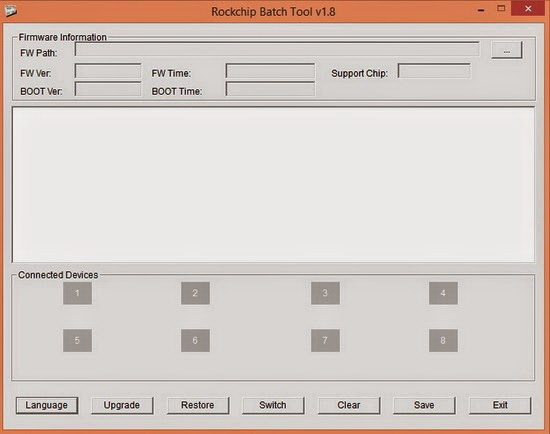 Rockchip Batch Tool v1.8