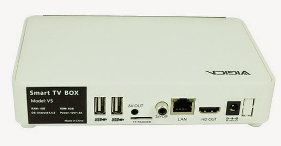 Vigica V5 Smart TV Box