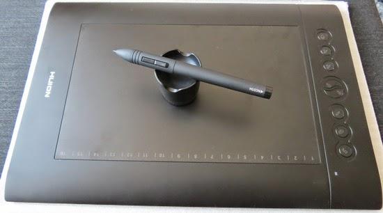 Huion H610 Pro Professional Pen Tablet