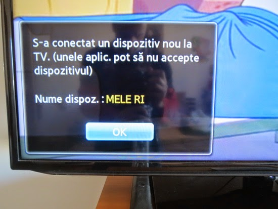 Mele F10 Deluxe on Samsung Smart TV