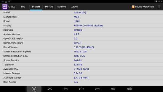 Tronfy MXQ S805