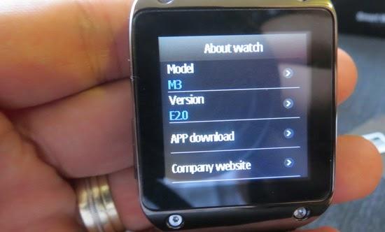 Rikomagic M3 Bluetooth Smart Watch