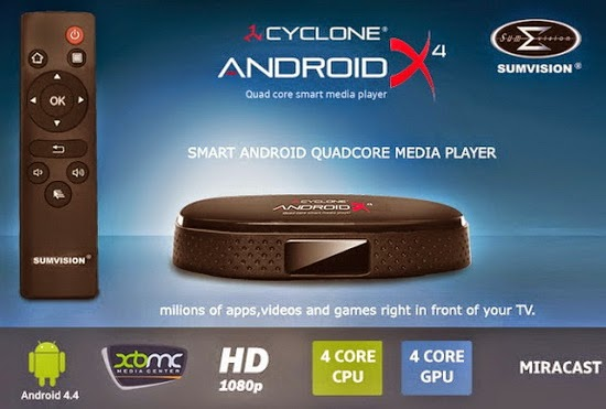 sumvision cyclone android X4