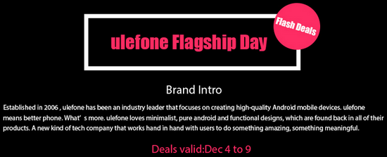 Ulefone-Flagship-Day