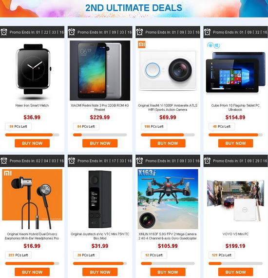 epic easter 2nd anniversary sales gearbest china