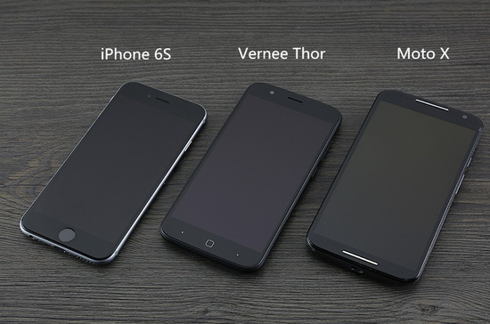 vernee thor vs iphone 6s