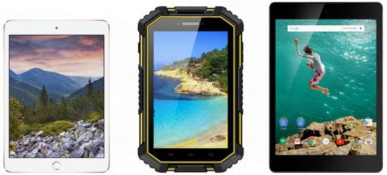 VKworld-V6-Rugged-Tablet-vs-iPad-mini-vs-Nexus-9