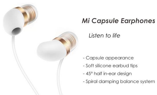 Xiaomi Mi Capsule In-ear Earphones