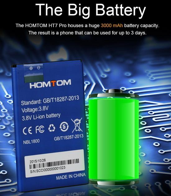 HomTom HT7 Pro