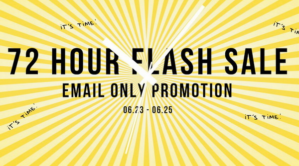 72 Hours Flash Sale
