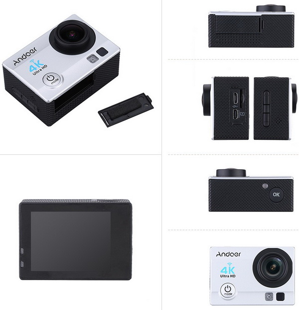 Andoer Ultra-HD 4K Action Camera 3