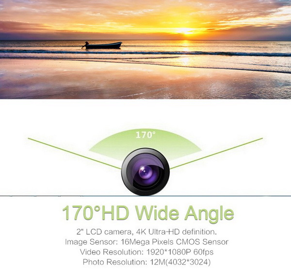 Andoer Ultra-HD 4K Action Camera 6