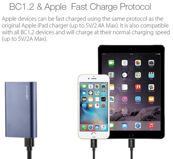 Blitzwolf Bw P3 9000mah Quick Charge 3 0 Power Bank