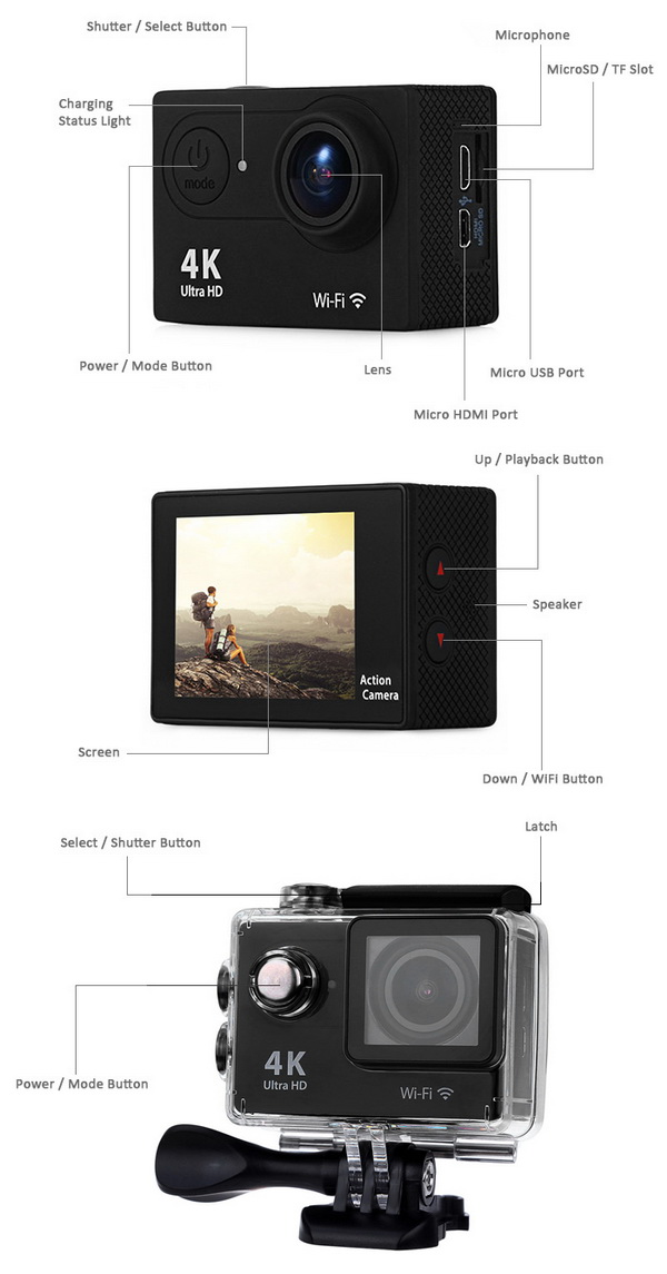 H9 4K Sports Action Camera 5