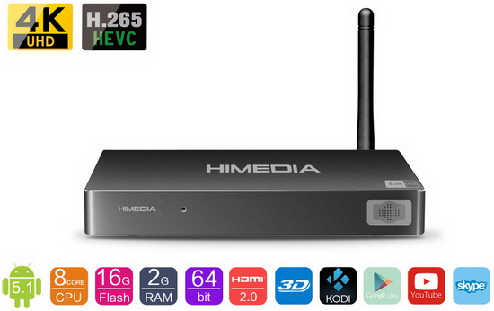 Himedia H8 TV Box