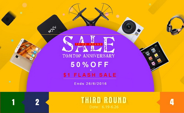 TomTop Anniversary Sale