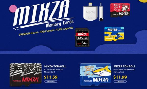 Mixza SD Memory Card