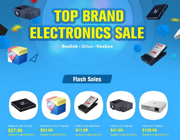 Top Brand Electronics Sale