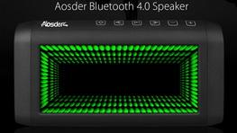 Aosder Bluetooth 4.0 Speaker mik