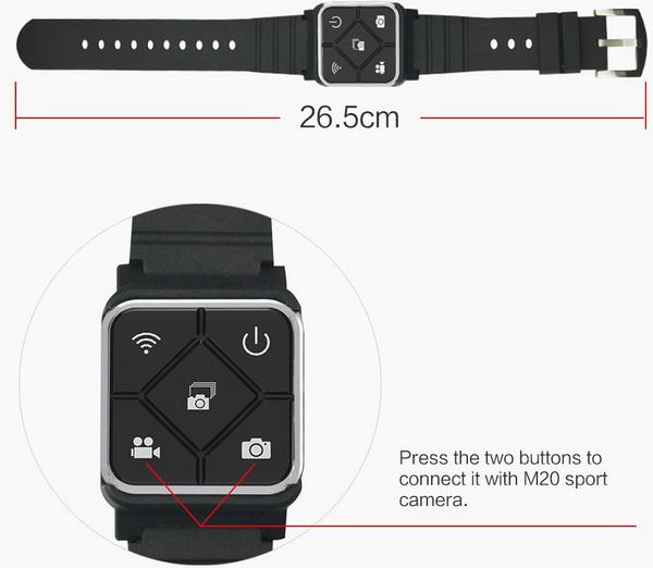 SJCAM M20 Wireless Remote Watch Contoller