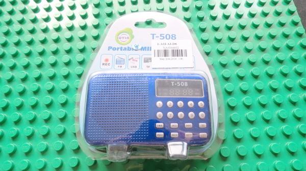 T-508 FM Radio Portable Mini Speaker
