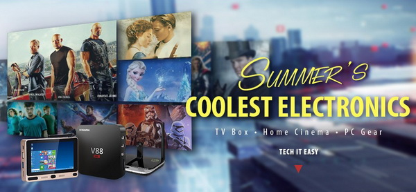 Summer's Coolest Electronics