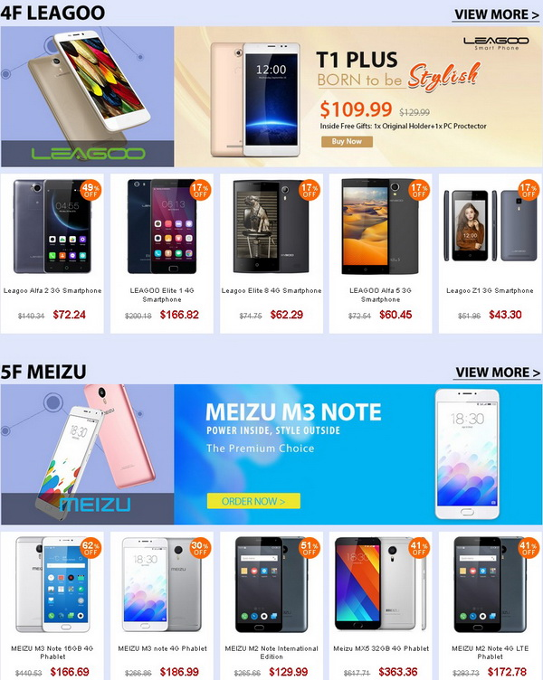 Top Brand Phones Promotion