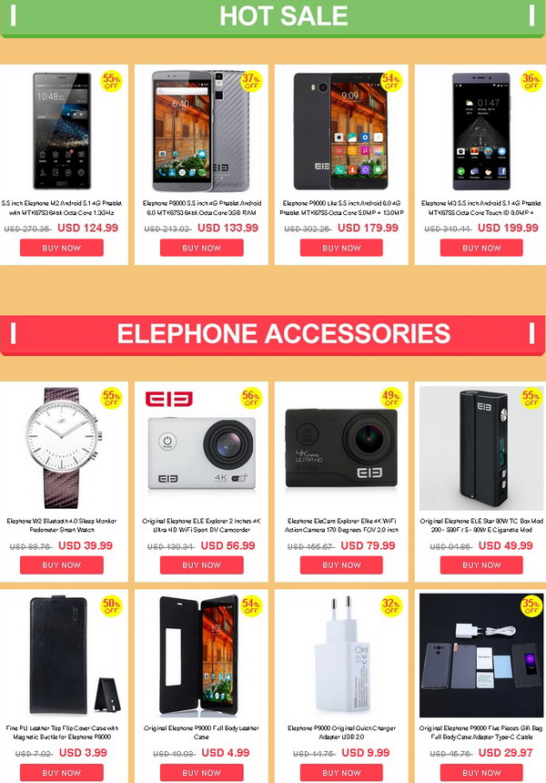 Elephone Summer Sale (3)