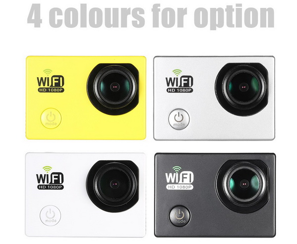 FHD Wifi Action Sports Camera