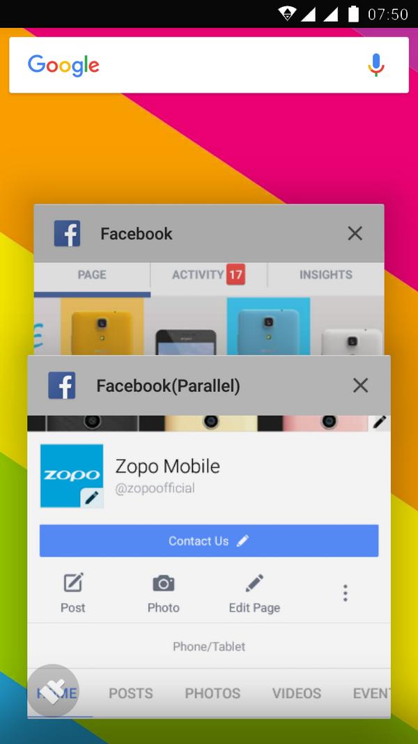 Zopo Color
