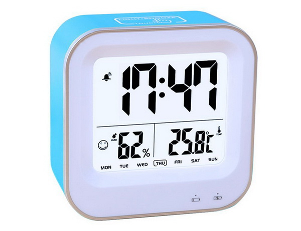 Samshow Rechargeable Travel Alarm Clock