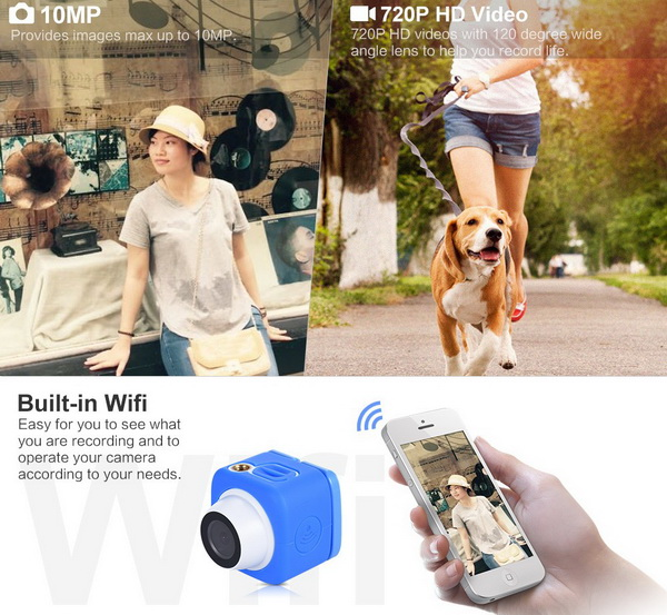 Super Mini Pocket Camera