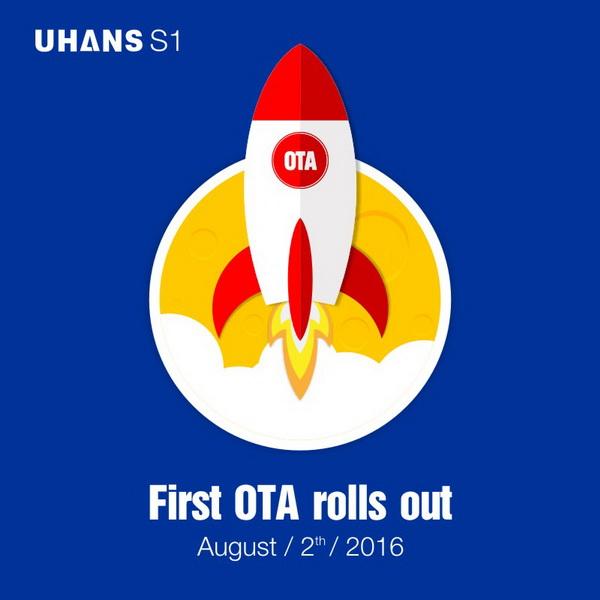 UHANS S1 - OTA update