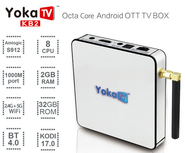 Yoka KB2 TV Box