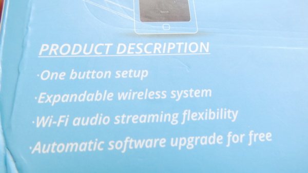 unboxing idea home w205 smart wifi bt streaming speaker china