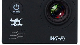 16MP 4k Sports Action Camera mik