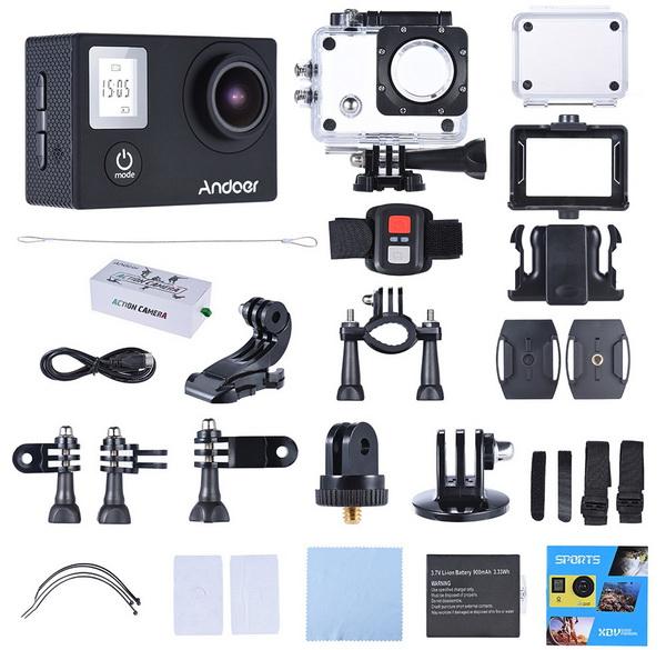 Andoer 4K 16MP Action Camera
