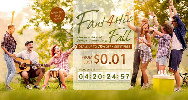 Fant4stic Fall Flash Sale
