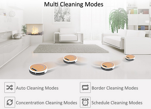 ... Cleaner Robotic Vacuum Cleaner
