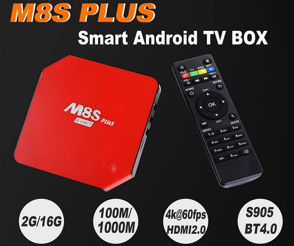 M8S Plus TV Box