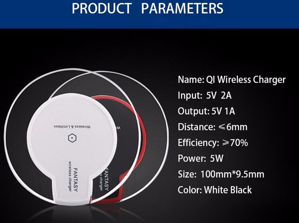 Universal Fast QI Wireless Charger