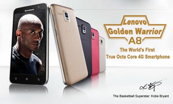 Lenovo Golden Warrior A8 A806