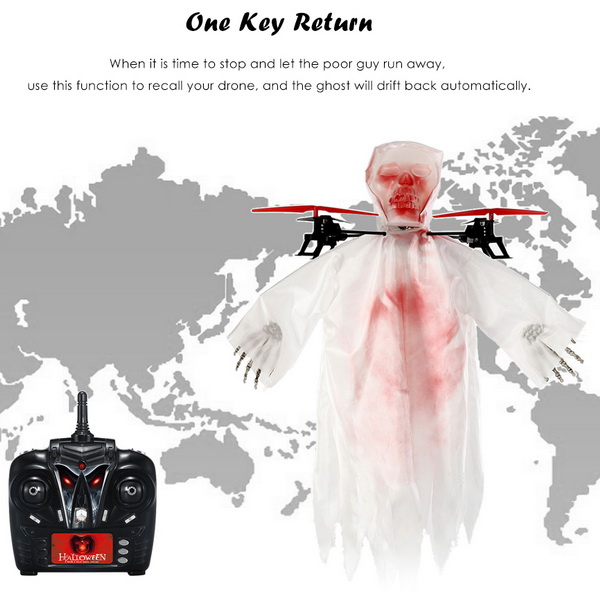 1031 Skull Shape RC Quadcopter