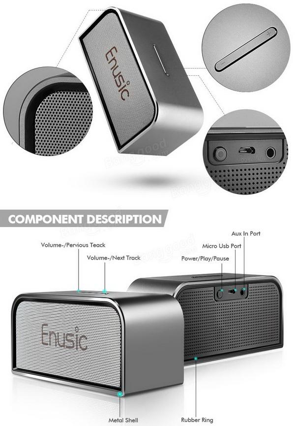 Enusic 003 Bluetooth Speaker