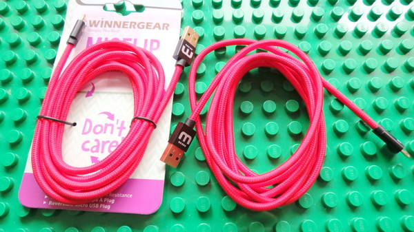 MicFlip 2.0 Fully Reversible Micro USB Cable