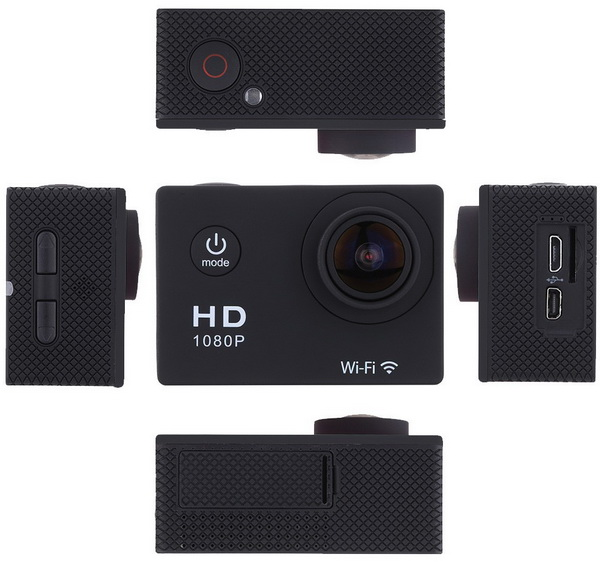 W8 12MP Action Sports Camera