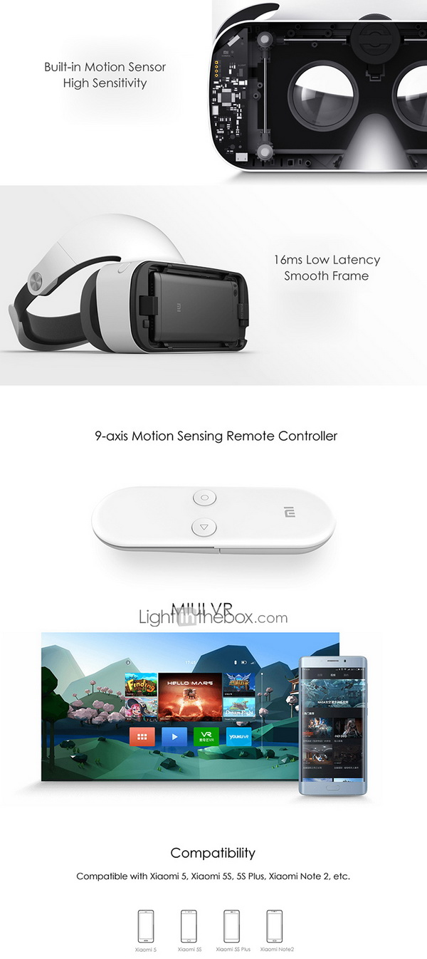 Xiaomi VR 3D Virtual Reality Glasses