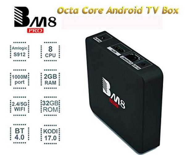 BM8 Pro TV Box