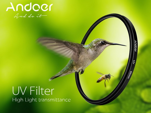 Andoer 37mm UV Filter Lens