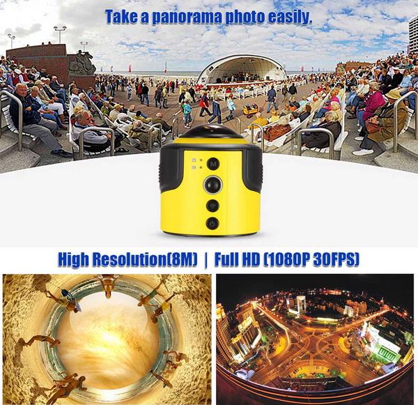 Detu 360 Degree Panorama Camera